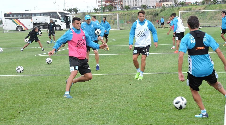 Racing sigue con la puesta a punto.