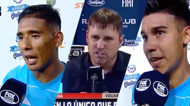 Racing le ganó a Belgrano con el gol de Licha y esto dijeron los protagonistas tras la victoria.