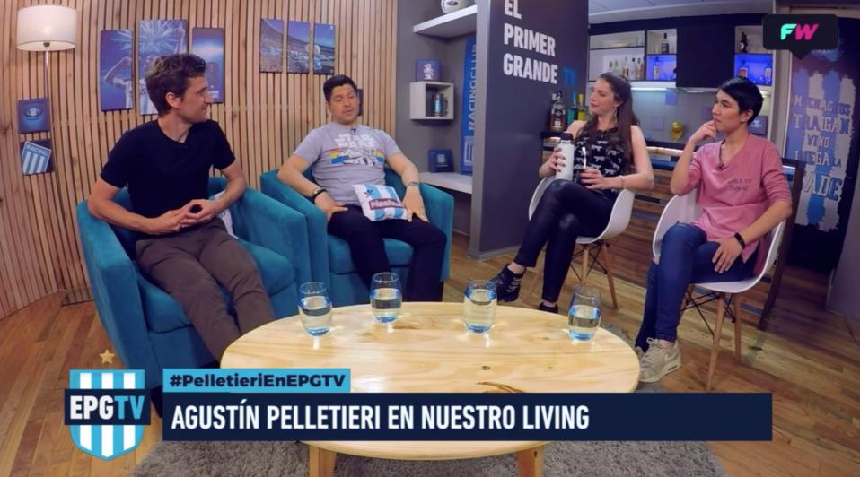 Gran noche de El Primer Grande TV con Agustín Pelletieri.