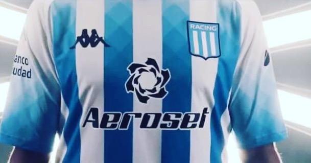 Aeroset, nuevo main sponsor de Racing.