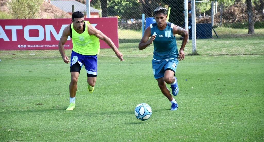 Fútbol en el Tita. Foto: Racing Club.