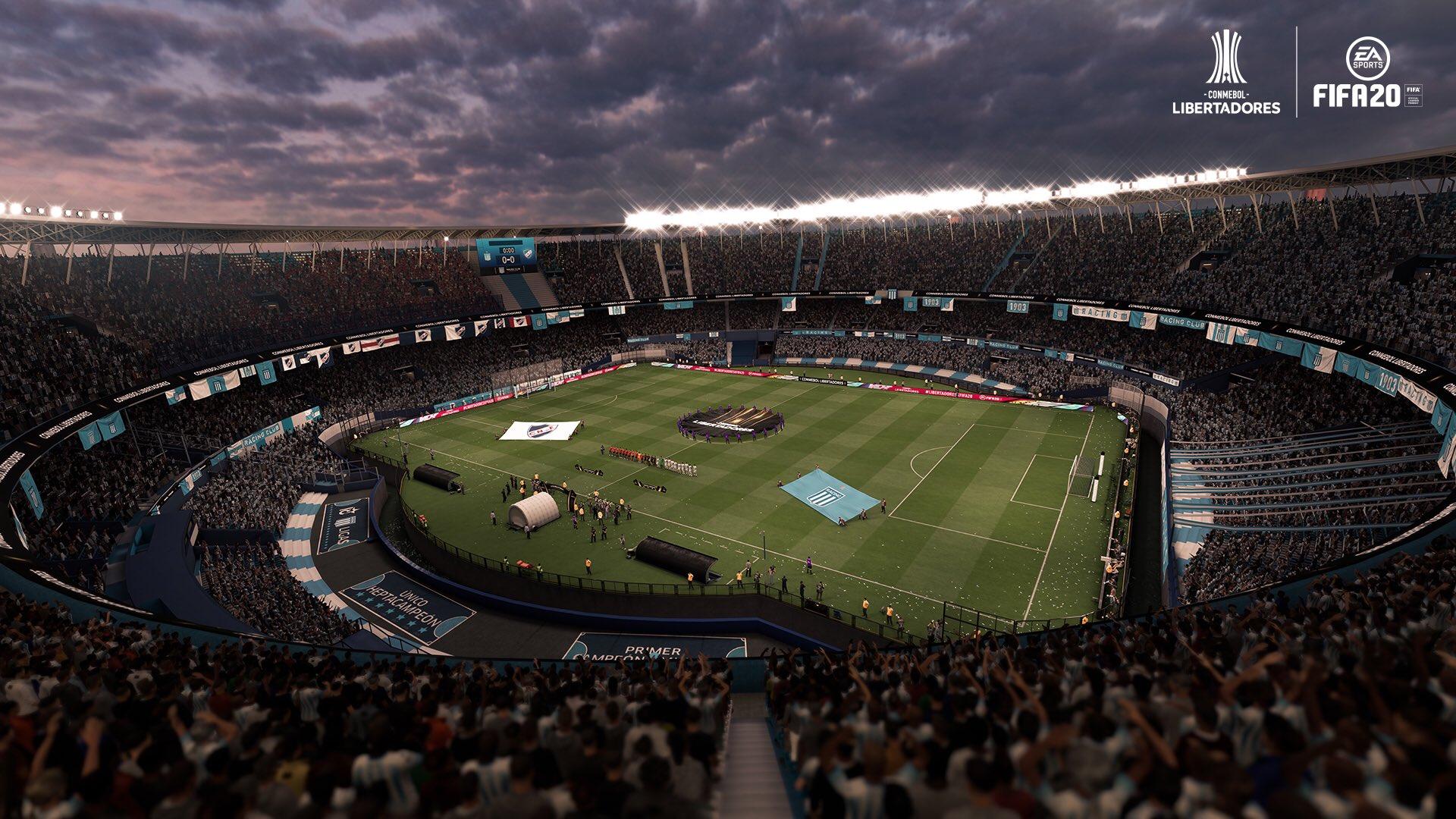 El Cilindro en el FIFA 20.