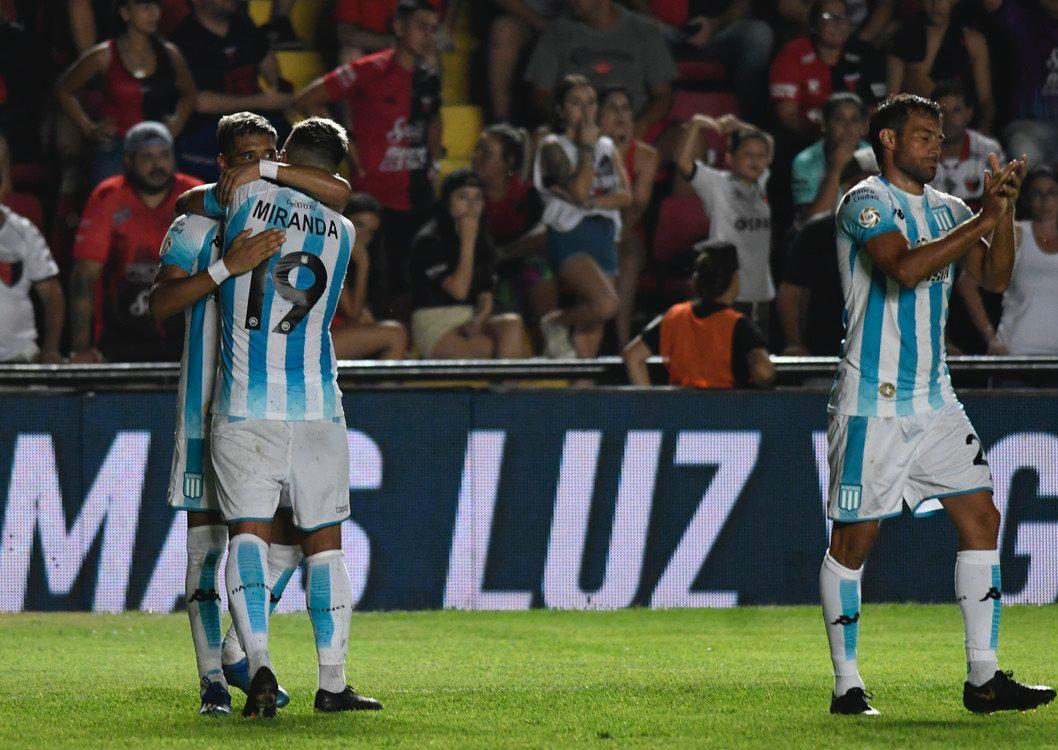 Zaracho volvió y marcó el gol de Racing.