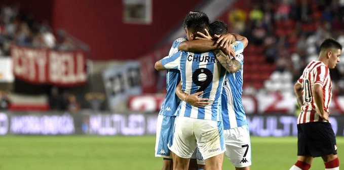 Fértoli y Cristaldo los goles en La Plata.