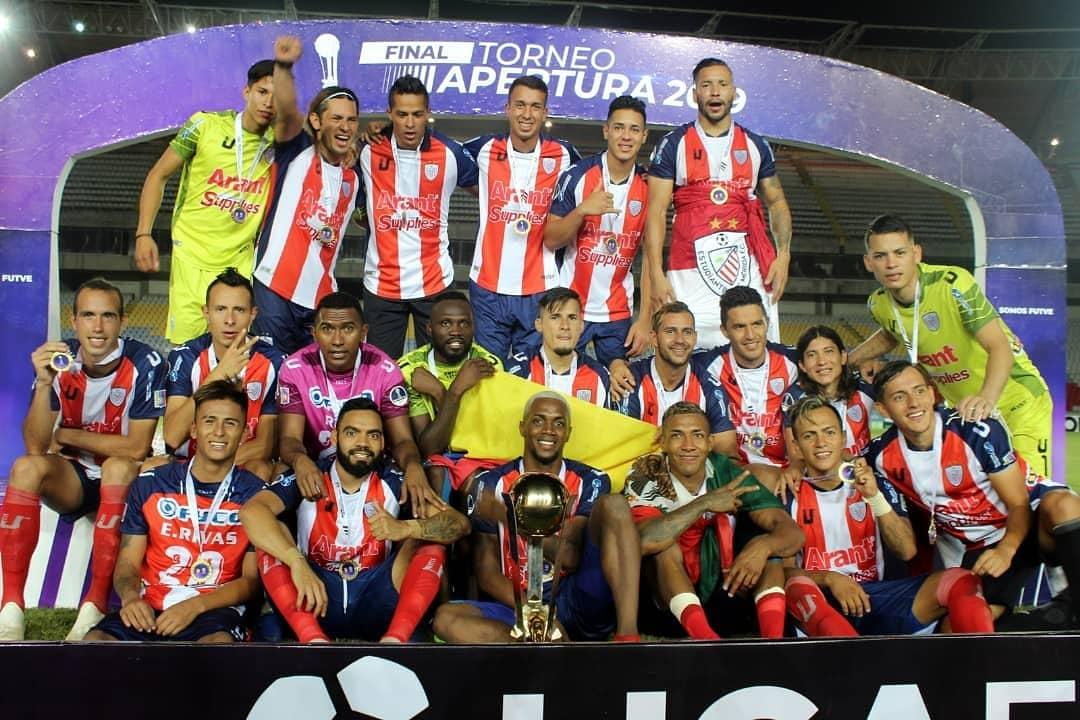 Estudiantes viene de ser campeón en el Torneo Apertura de Venezuela.