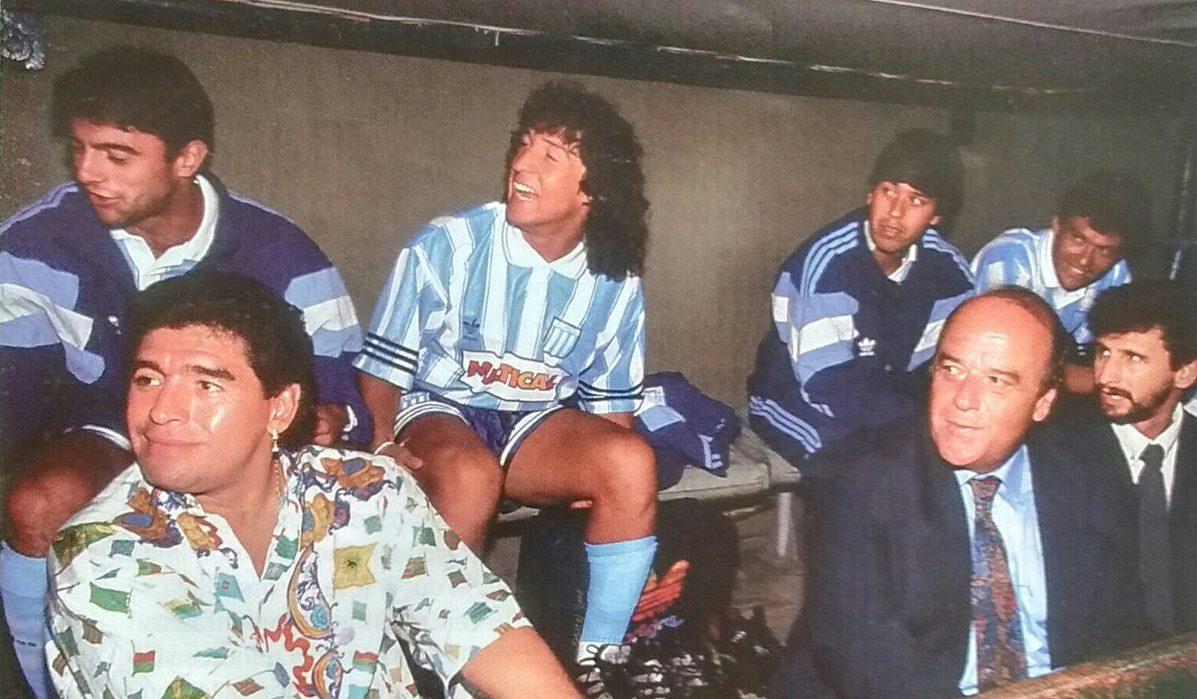 """Años más tarde el """"Lagarto"""" fue dirigido por Diego."""