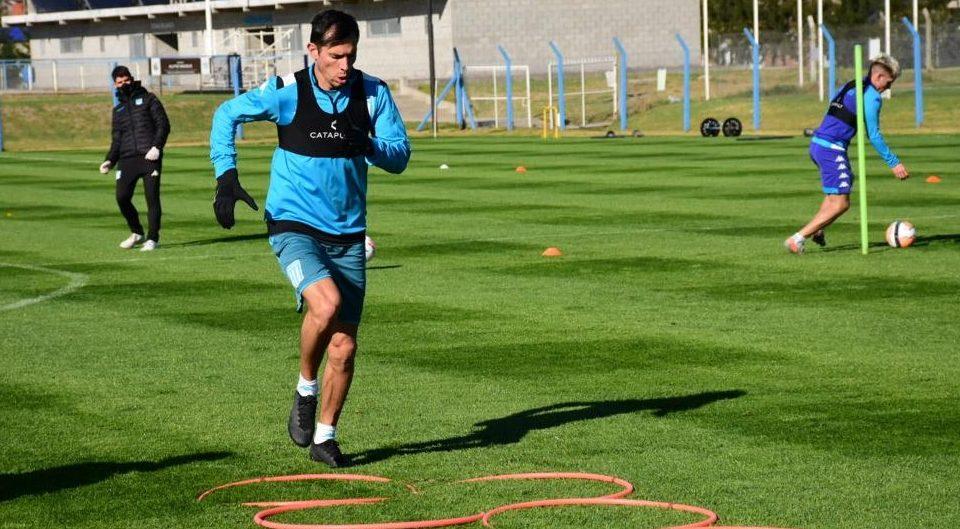 Solari, un refuerzo en la vuelta del fútbol. Foto: Racing Club.