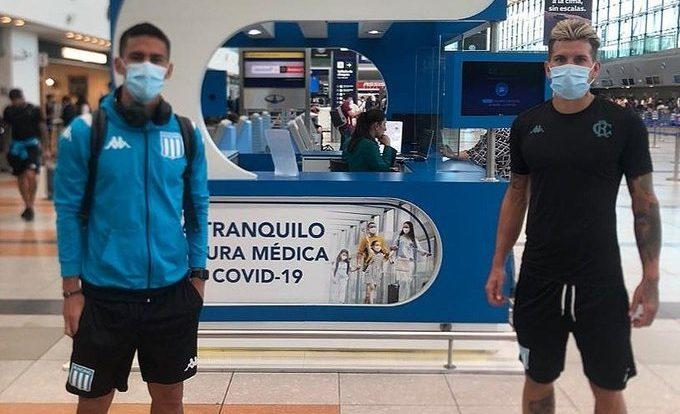 Racing ya viajó hacia Rio. Foto: Racing Club.