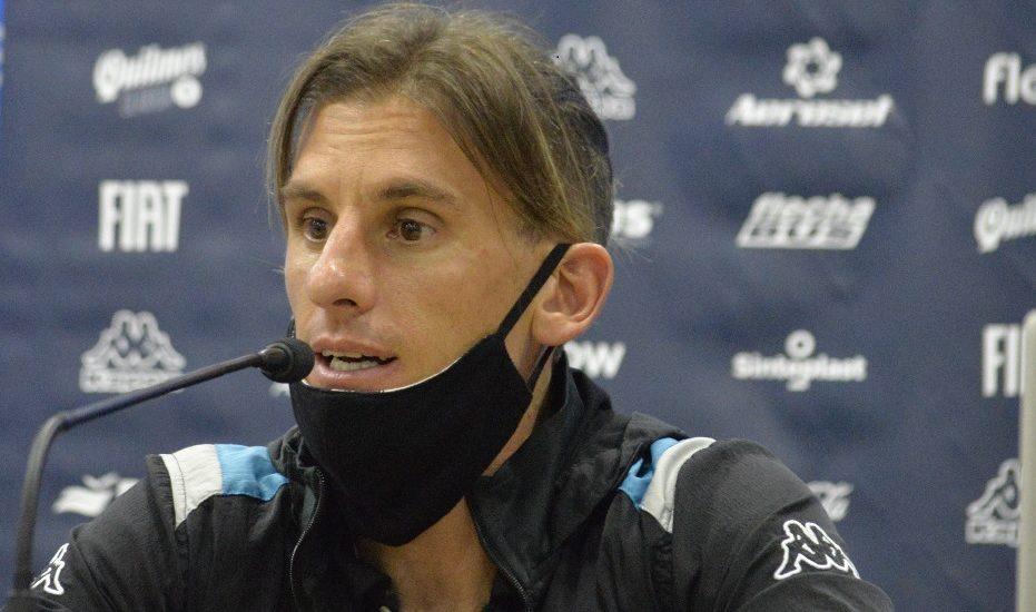 Beccacece se mostró tranquilo y enfocado en Flamengo.