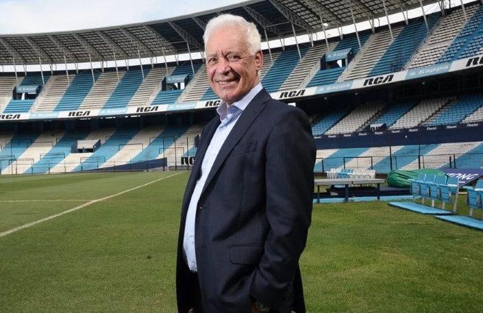 Blanco seguirá como presidente de Racing hasta 2024.