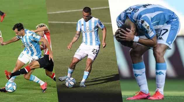Además, de Marcelo Díaz, Racing cuenta con 3 lesionados.