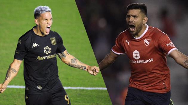 Racing e Independiente se enfrentan a las 21 en el Cilindro.