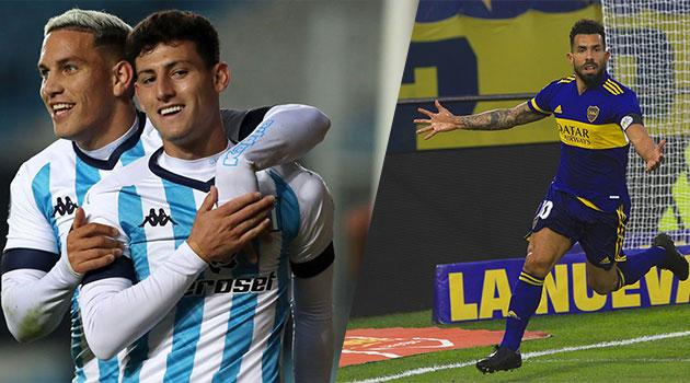 Racing y Boca, por un lugar en las semifinales.