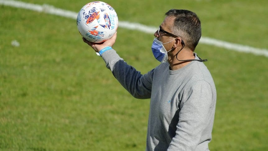 Pizzi destacó la labor de los jugadores.