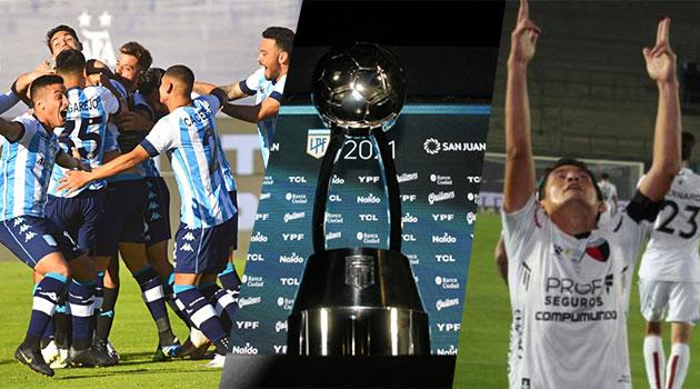 Desde las 19, Racing - Colón, la final de la Copa de la Liga.