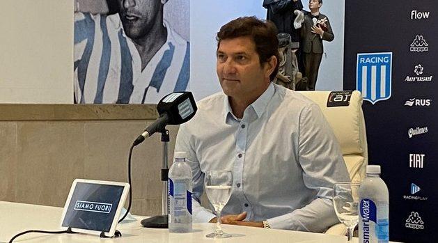Capria habló de la renovación de Sigali.